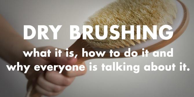 Benefits of dry brushing: A supermodel secret