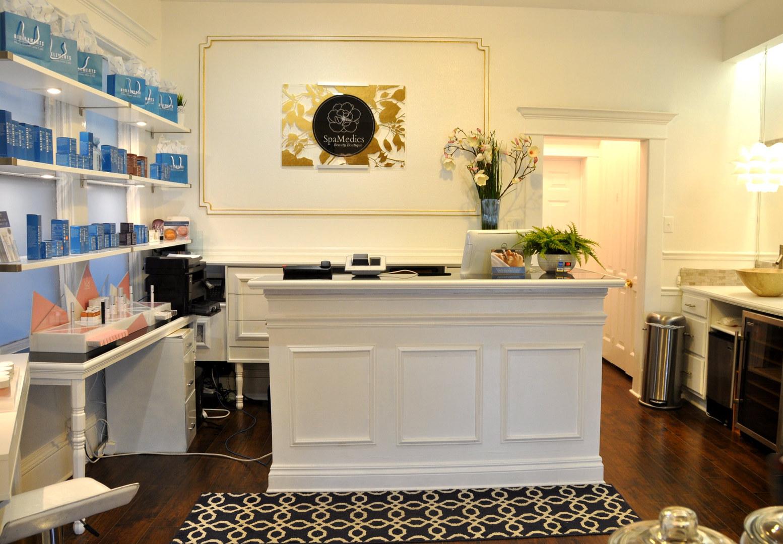 Spa Medics Beauty Boutique Reception Area