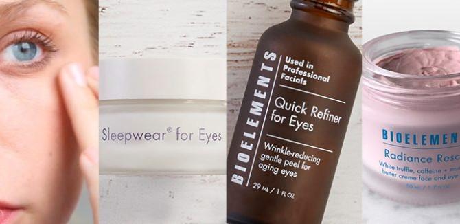 How to get rid of eye wrinkles, dark circles under eyes & more