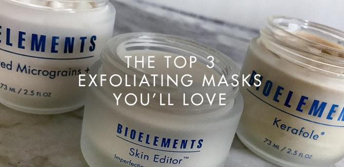 Dull skin? Here's 3 exfoliating masks you'll love