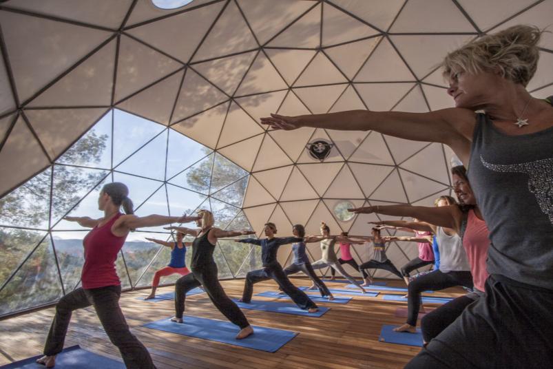 Yoga Retreats with Featherlight Living