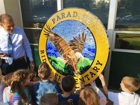 Paradise Ridge Elementary medallion