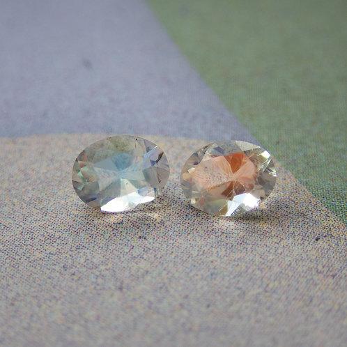 Rainbow Moonstone Pair