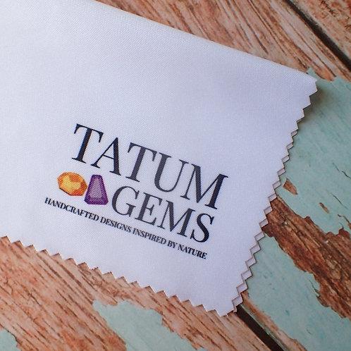 Tatum Gems Cleaning Cloth