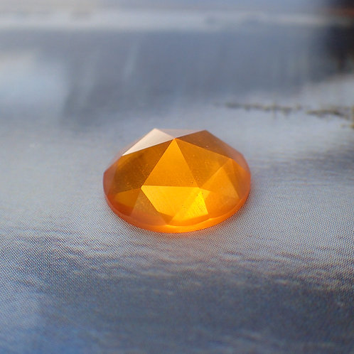 Fire Opal Rose Cut