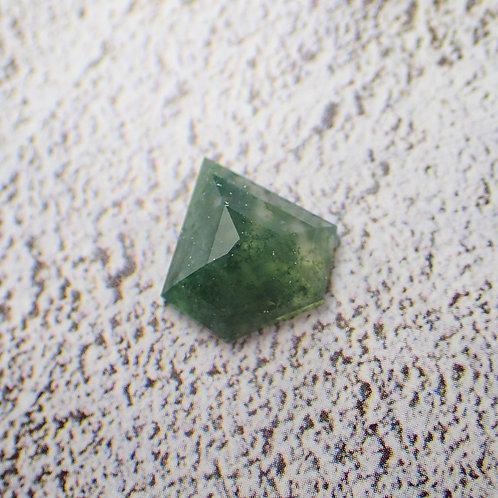 Moss Agate Tablet Cut
