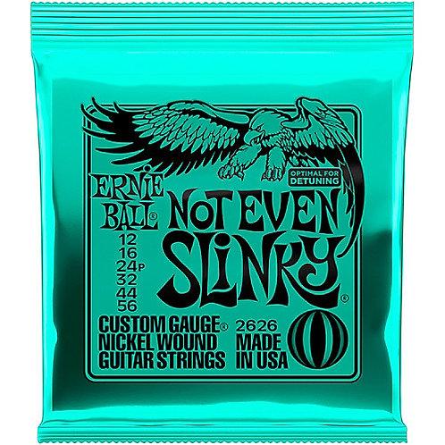 Cordas Ernie Ball Not Even Slinky 2626 .012 - .056
