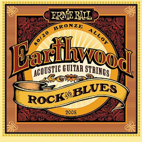 Cordas Ernie Ball Earthwood 2008 .010 - .052