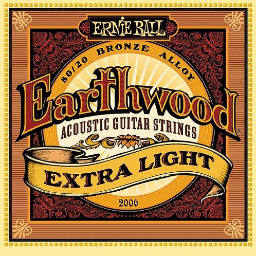 Cordas Ernie Ball Earthwood 2006