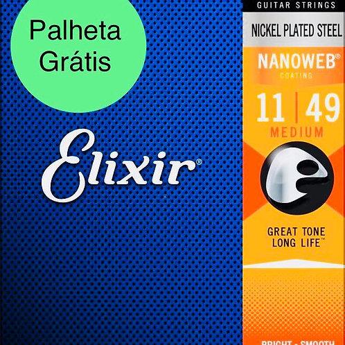 Cordas Elixir Nanoweb 12102 .011 - .049