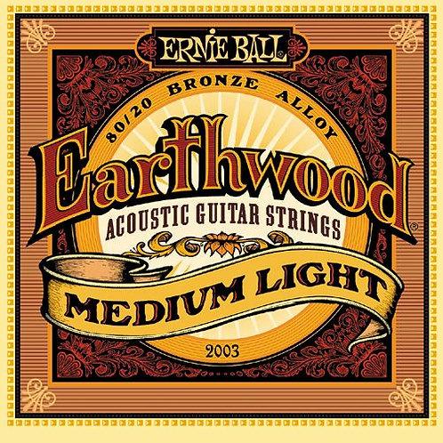 Cordas Ernie Ball Earthwood 2003
