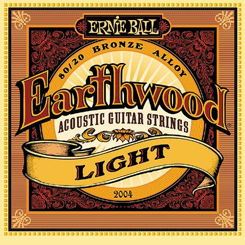 Cordas Ernie Ball Earthwood 2004