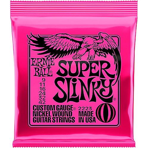 Cordas Ernie Ball Super Slinky 2223 .009 - .042