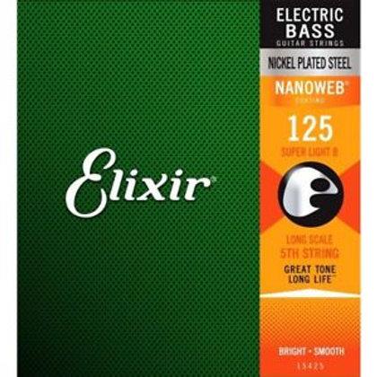 Cordas Elixir Baixo 15425 Quinta Corda .125