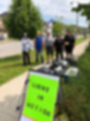 July 6 Cleanup at York Durham and Mantle