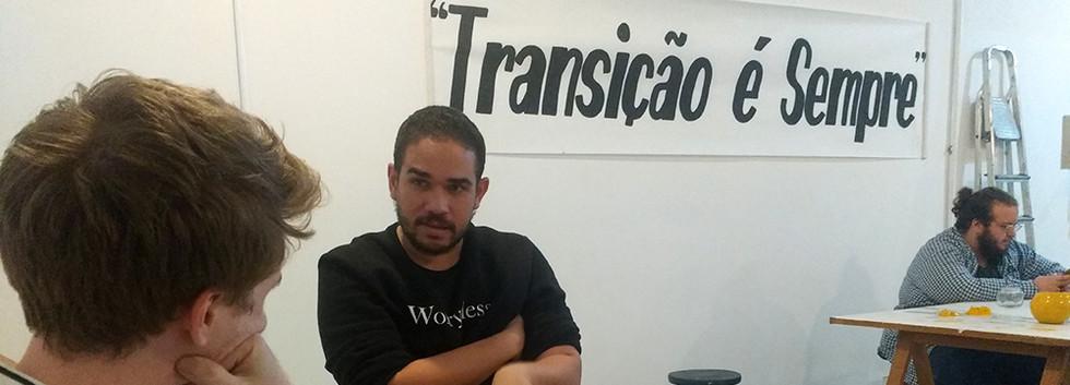 Meeting with Curator Raphael Fonseca - Rio de Janeiro - 2018
