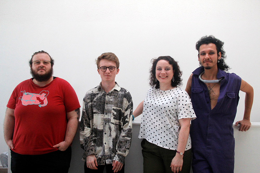 Open Bodies - DESPINA resident artists - Miro Spinelli, Henry McPherson, Stephanie Black-Daniels, Vinicius Pintorosa
