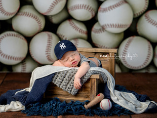 Take Me Out to the Ballgame | Newborn