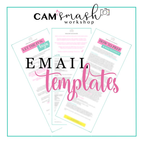 CAKE SMASH: Client Email Template Bundle