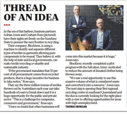 Courier Mail article