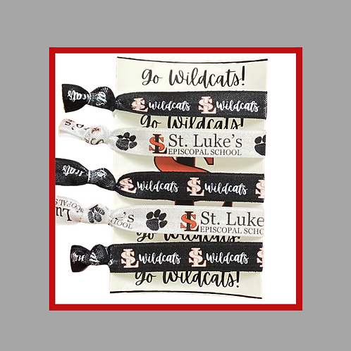 SLES hair ties - set of 5