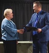 Karen Gunson & Matt S. Award Presentatio