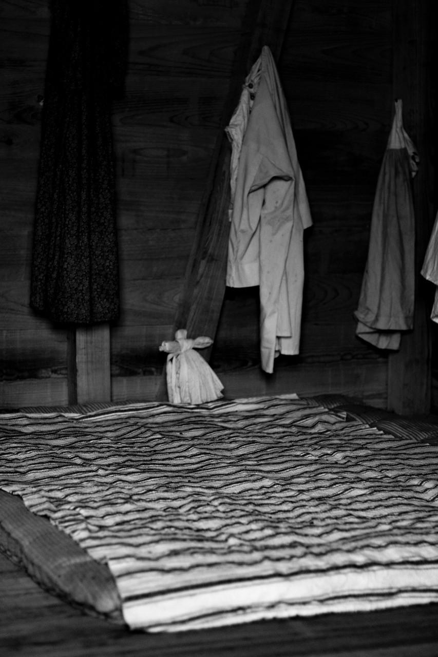 Oak Alley Sklavenunterkunft Schlafplatz