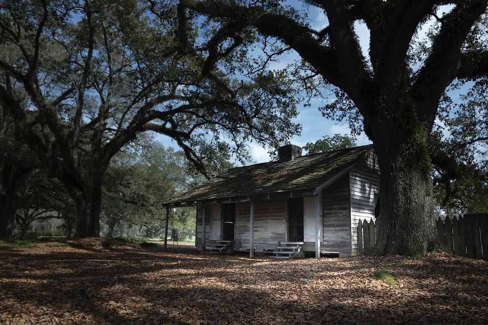 Sklavenunterkunft Oak Alley