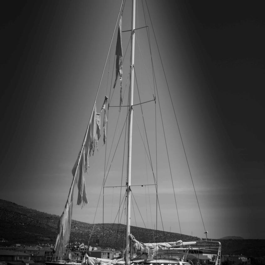 Das Geisterschiff von Trogir