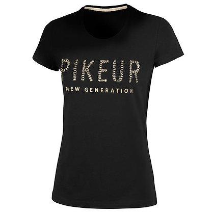 "T-Shirt Pikeur ""Lene"" Black"