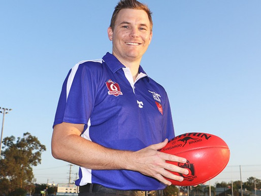 New QAFL coach Daniel Webster excited for challenges ahead