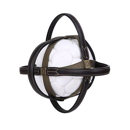 Ballon de Horse Ball avec poignées cuir Ikonic