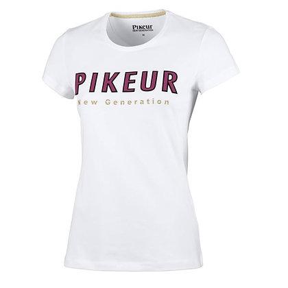 """T-Shirt Pikeur """"Lene"""" Blanc"""