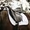 "Thumbnail: Tapis Kentucky ""Leather Fishbone"" Blanc"
