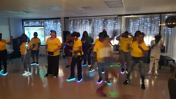 LIGHT UP WITH THE LINE DANCE CONNECTION