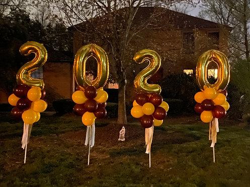 2020 Topiary Balloon Sign