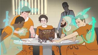 """""""Prison & Dragons"""" ou l'usage du jdr en prison"""