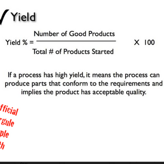 Manufacturing Formulas