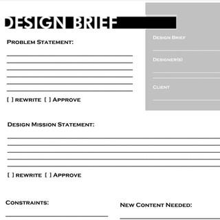 Design Brief Blank