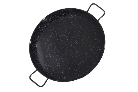 38 cm geëmailleerde paellapan (tapa's formaat)