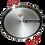 Thumbnail: 65cm Paella Pan van Gepolijst Staal