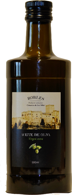 Extra Vierge Olijfolie. / Aciete de Oliva Virgen / 500 ml