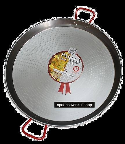 70cm Paella Pan van Gepolijst Staal