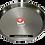 Thumbnail: 42cm Paella Pan van Gepolijst Staal