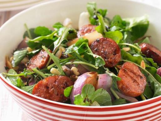 Ensalada con Chorizo (Salade met Chorizo)