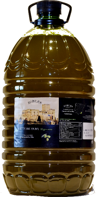 Extra Vierge Olijfolie. / Aciete de Oliva Virgen / 5 liter