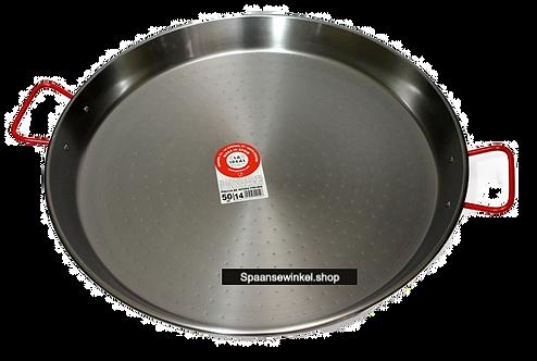 50cm Paella Pan van Gepolijst Staal