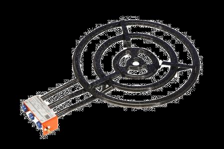 60 cm + Gas Butaan / Propaan Paellabrander