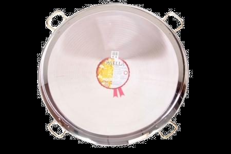 90 cm roestvrijstalen paellapan
