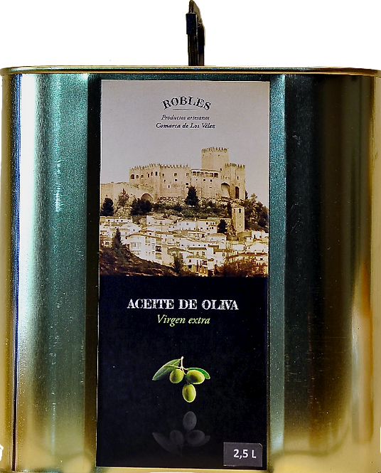 2,5 Liter Ecológico |Extra Vierge Olijfolie (Aciete de Olivo extra Virgin)